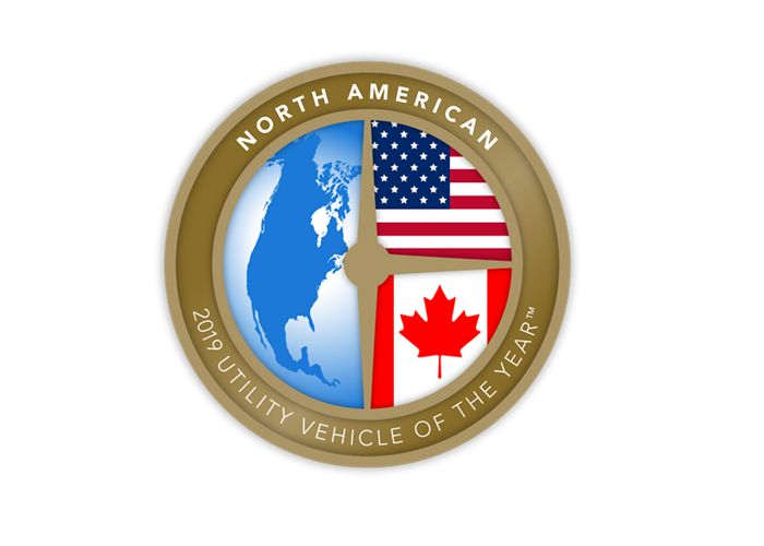 2019 北美年度最佳多用途車 <br>(North American Utility Vehicle of the Year™)